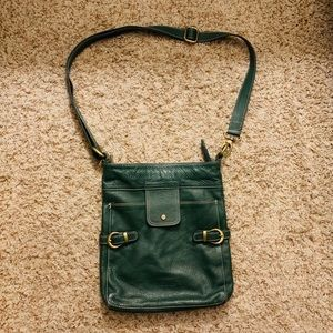 Made in Italy genuine leather Crossbody